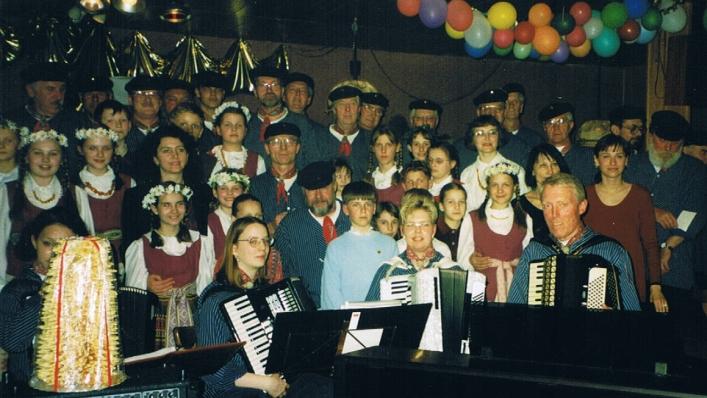 Jugendchor aus Vilnius und Seemannschor Oldenburg - 06.04.1999
