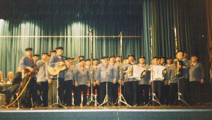 1089. Hafenkonzert von Radio Bremen aus der Weser-Ems-Halle Oldenburg - 07.11.1993