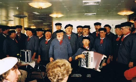 Konzert auf der MS Baltic Star 22.03.1996