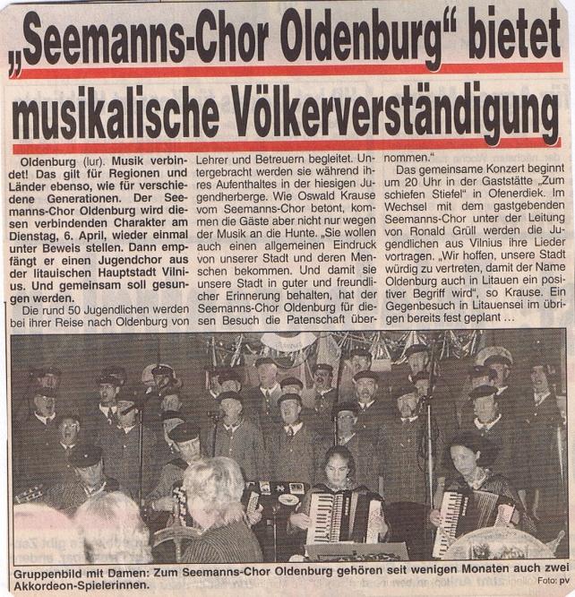 Hunte Report - 28.03.1999