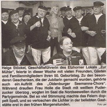 Hunte Report 01.02.2004