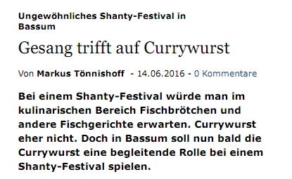 Weser-Kurier online - 14.06.2016